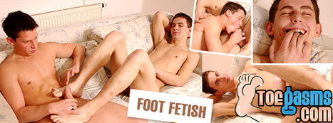 Anal foot fucking wh horny boys