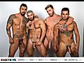 Boomer Banks, Josh Moore, Ricky Roman & Francois Sagat