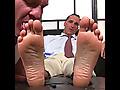 My Friends Feet: Sebastian Steele Foot Dominates Dev