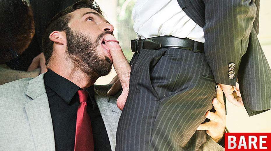 top gay office suit sock video