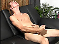 23 y.o. Kayden jacks his giant uncut dick for the camera