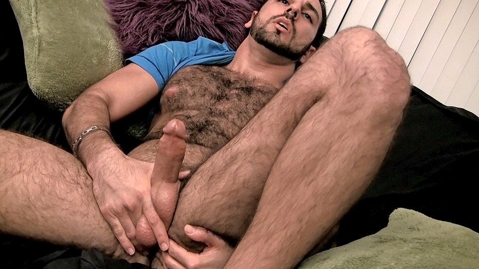 Hairy Hunk Spews The Juice - Gay - Dominic Zack Has Invited-1760