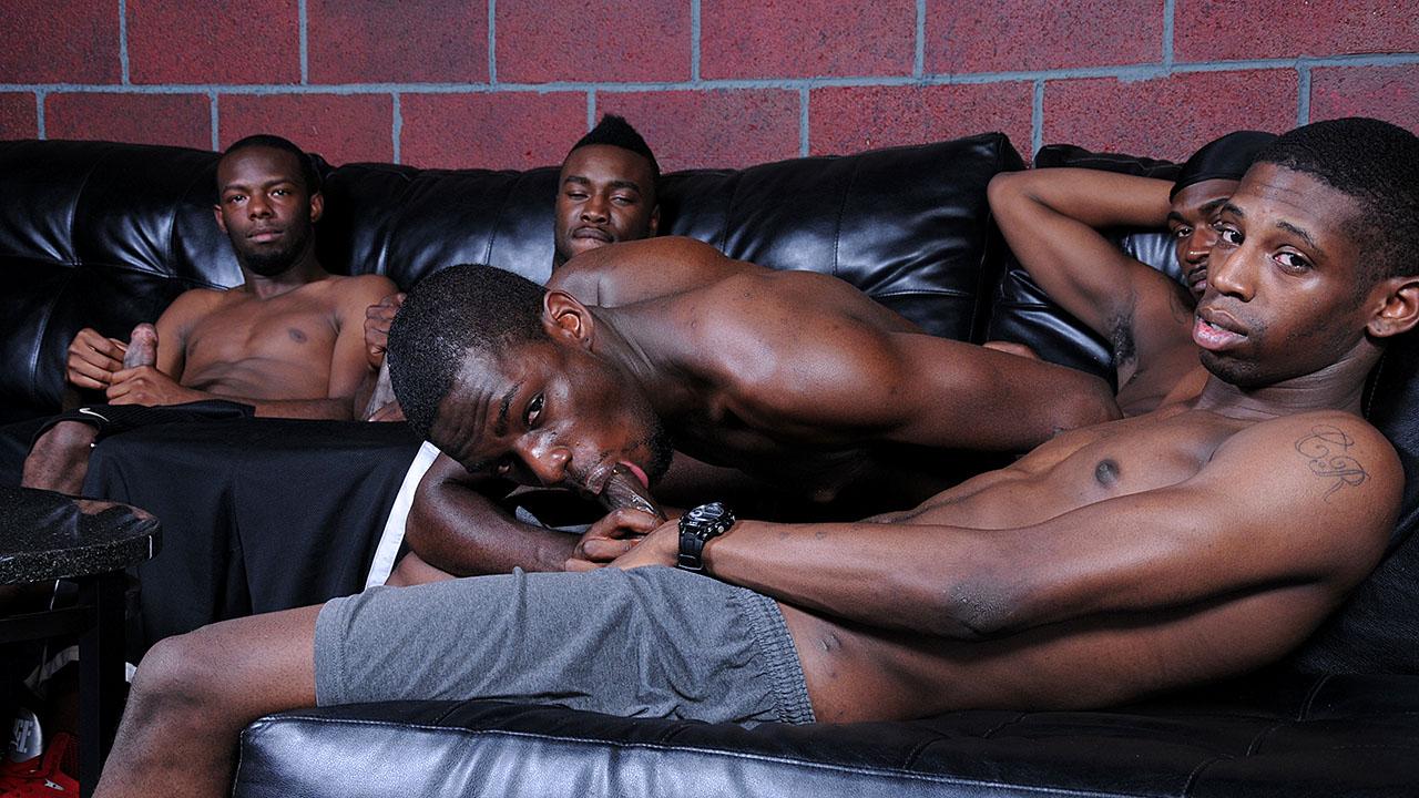 orgy Black porn thug gay