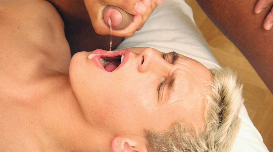 ManSurfer Hung Dudes Blast Their Jizz into Hungry Mouths!