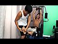 Laughing Asians: Josh's Ticklish Workout