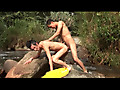 Horny Latino twinks Fuck in the Woods