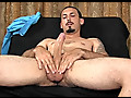 Geovanni Jacks His Big Uncut Cock