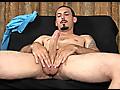 Geovanni Jacks His Big Uncut Cock