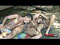 Bareback Time: Thiago,Junior and Bruno Threesome