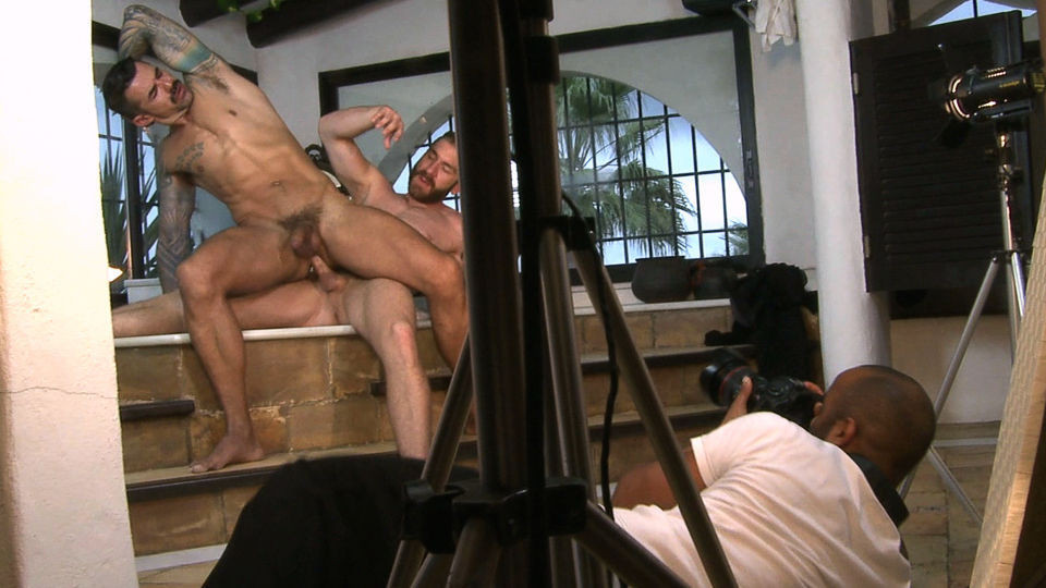 Gay porn making of