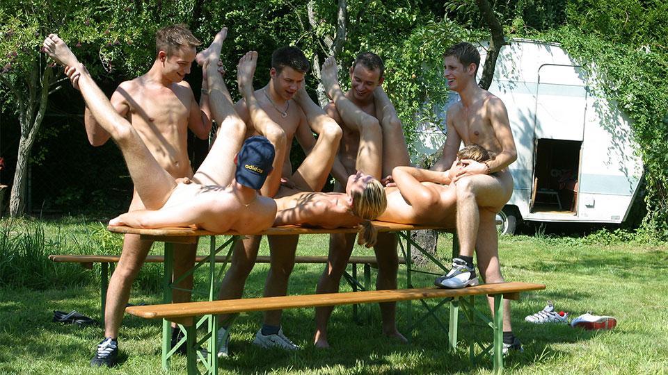 Amateur massive open air orgy - 3 part 3
