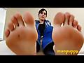 Man Puppy: Giant Foot Job - Aiden Valentine