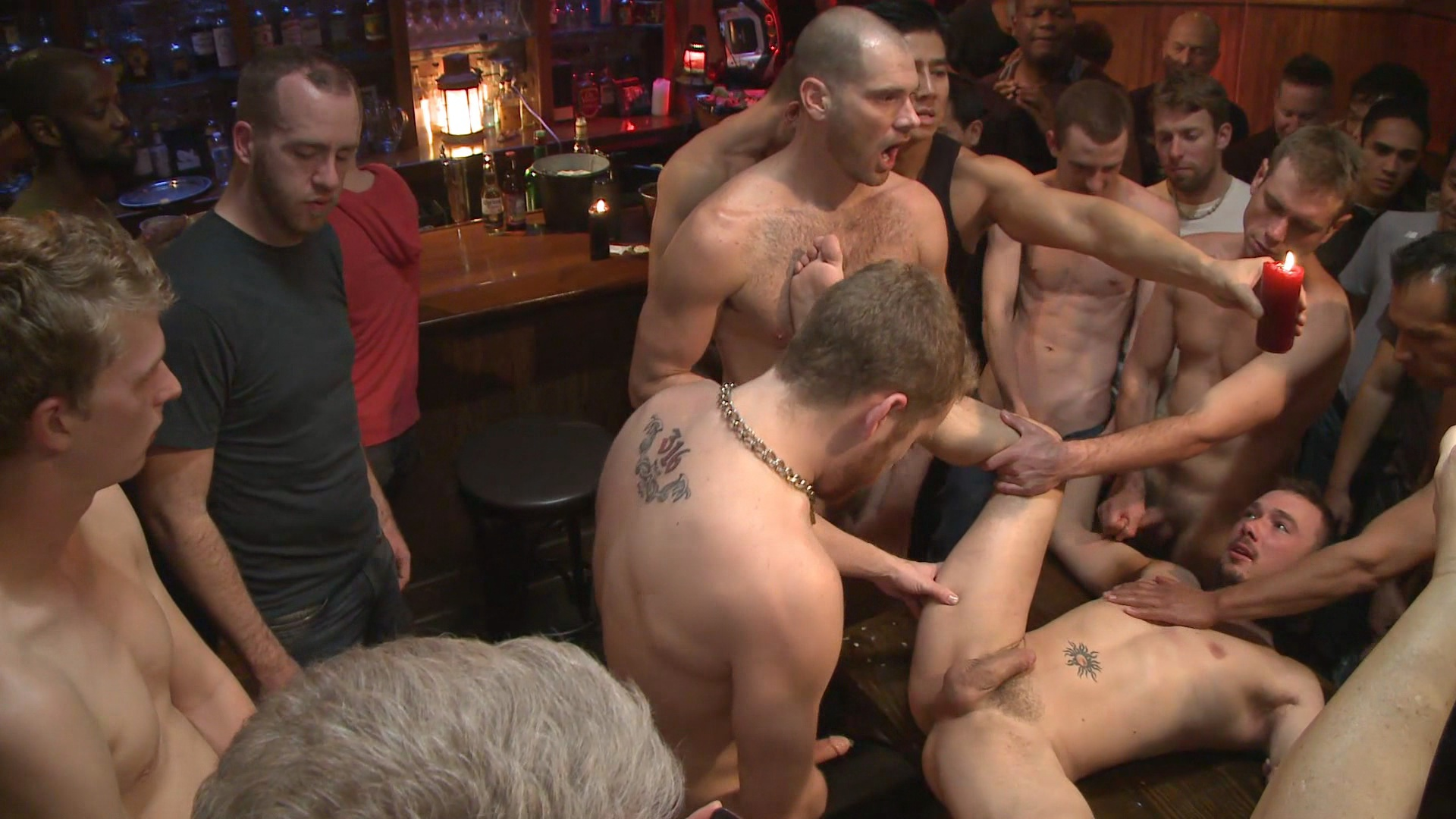 Every Hunks Assfucks At Great Orgy