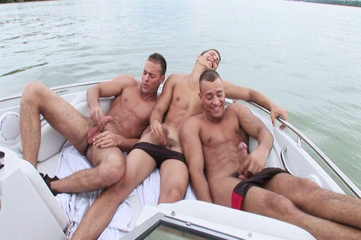 Threesome Solo Boat - Gay - The Triplets Jerkin Off Their -7420