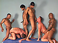 Bareback Power Bottoms by SX Video features Gut Banga, Josh Weston and Marco Paris among others in a nasty gangbang scene with two white boys getting filled from both ends with hot cum.