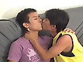Asian Boy Toys: Smooth asian twinks sucking and fucking