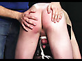 Roped Studs: Colton - Twink bent over and whipped with rope