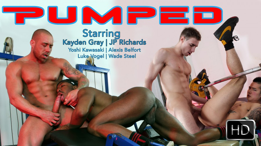 Pumped Yoshi Kayden Gay Porn