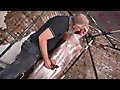 Cameron James & Sebastian Kane - An E-stim Cum Draining!