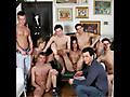 Pietro, Victor Kodina, Tommy Sem, Alessandro Mancini, Tim Taylor, Jack Black, Vasek and Denis Reed