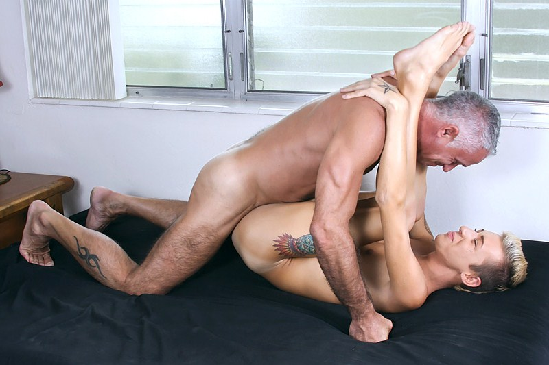 Bearded Daddy Loves Banging Ginger Twinks Hole
