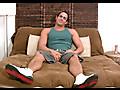 Muscular 23 y.o. Orion Jacks His Big Dick