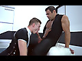 Man Up Films: Draven Navarro & Zander Lane - Gay Edging Blowjobs in Space