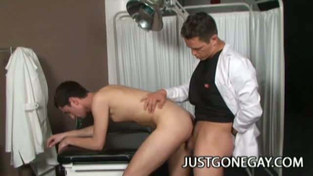 Gay doctor fucks patient