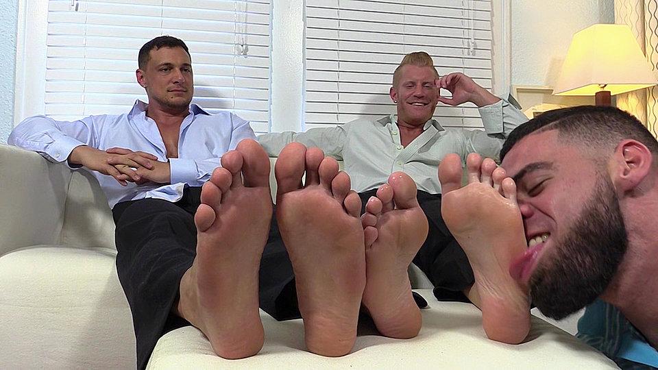 Gay foot worship free videos