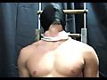 Darin - Frat jock chair-bound and dick-clamped