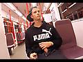 East Boys: Thomas Fiaty - In the subway and handjob