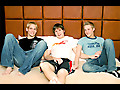 Twinkylicious: Kameron, Mathieu and Reed BareBack!