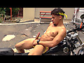 Motorcycle Jerk Off with Armond Rizzo
