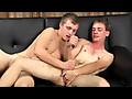 Blonde brothers both like their assholes fingered when they go gay for pay