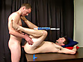 The Casting Room: Grows a really stiff full erection