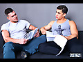 Paddy O'Brian talked into bottoming for first time with Topher Di Maggio