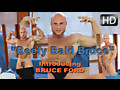 Man Avenue: Beefy and Bald Muscle Guy Jerking Off Big Dick