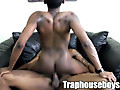 Trap HouseBoys: Black thugs on ass rimming and bareback