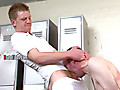 Brutal Tops: Stream of smelly piss flows into the back of his mouth