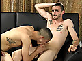 Straight buddies suck cock and jack off together, including a cum facial