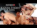 Japan Boyz: Kazuki Starts With a Kiss