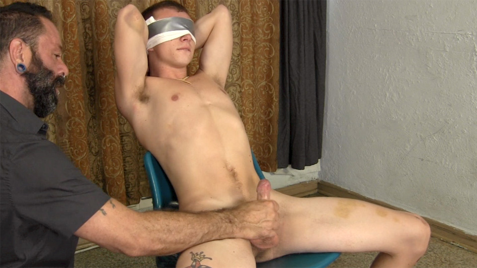 Straight blindfold gay miami artist gets 7