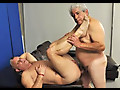 My First Daddy: Macho Grandpa Fucks Horny Daddy