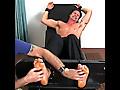 Sergey's Size 13 Feet & Body Tickled