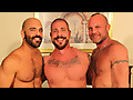 Bareback that Hole: Rocco Steele, Chad Brock & Adam Russo