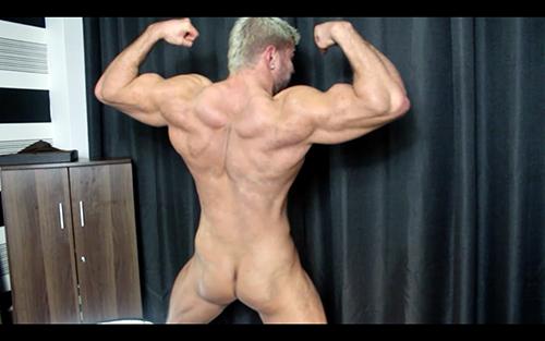 ManSurfer Back Bum Thighs N Cock