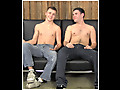 Gay-for-pay scene includes mutual j.o., bj's and frottage