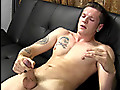 20 y.o. Blake strokes his cock on camera for the first time