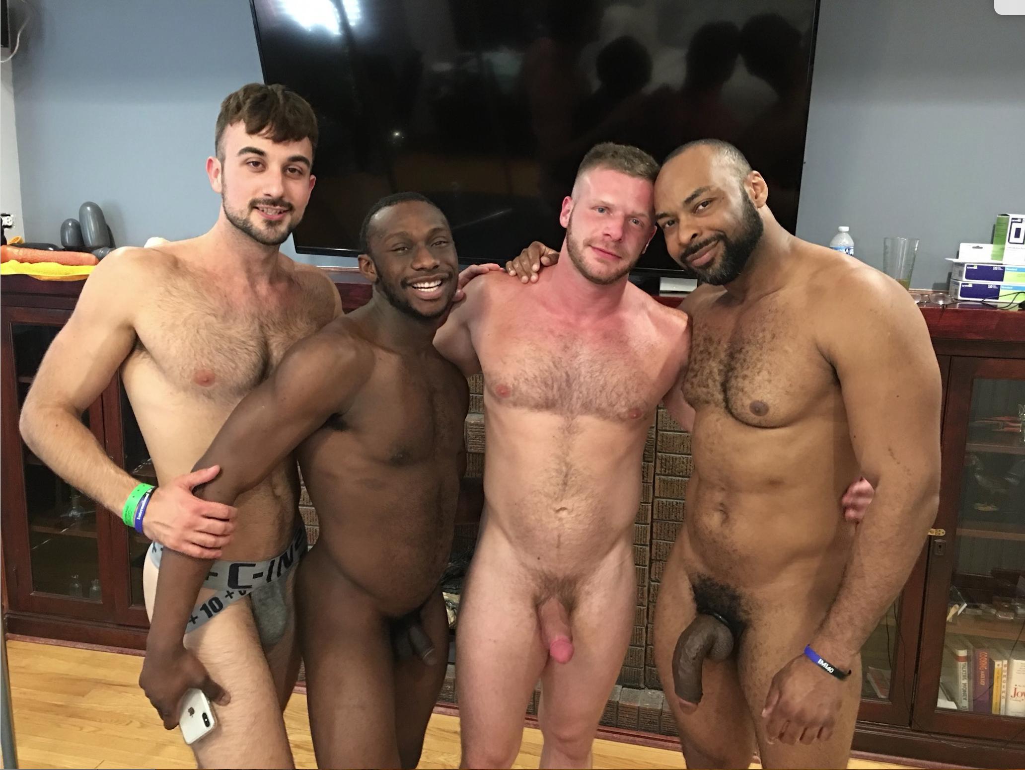 Resultado de imagem para RAY DIESEL, BRIAN BONDS, PARKER PAYNE & MASON LEAR porn