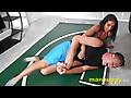 Man Puppy: Tickling Wrestling Domination - Alexis Rain - Leo Blue